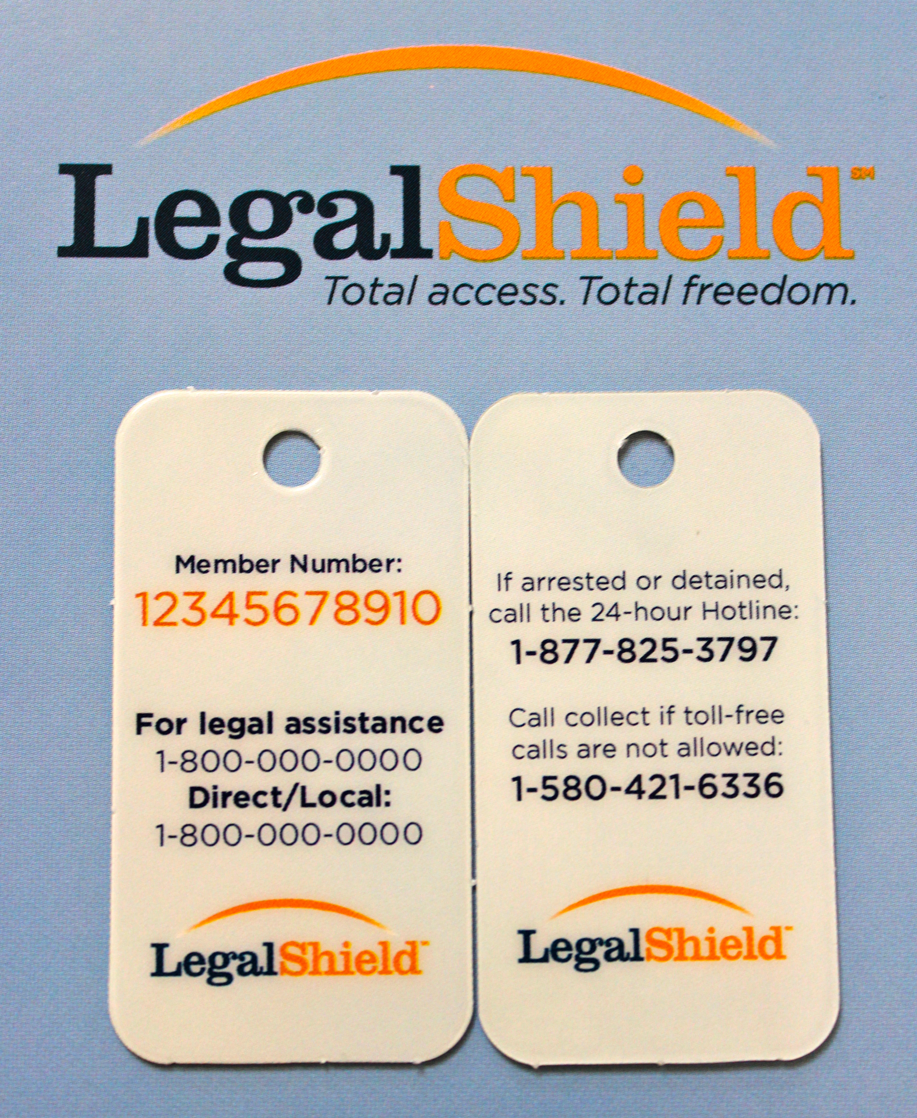 NEW** LegalShield Membership Cards! Have You Requested Your Cards ...